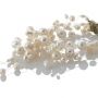 Богата гривна от естествени, бели перли 1