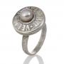 "Елегантен пръстен ""VELMAR"" с нежна естествена перла 1"