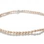 Нежно колие от ситни и редки естествени перли в овална форма 1